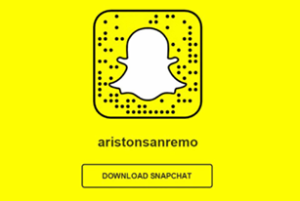 SNAPCODE Teatro Ariston Sanremo